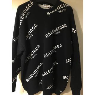 balenciaga 17aw 18aw ロゴ セーター(ニット/セーター)