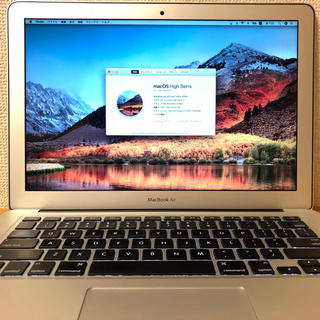 マック(Mac (Apple))のMacBook Air 13inch 8GB 512GB SSD 2014 US(ノートPC)