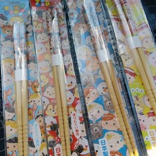 ディズニー(Disney)のツムツム箸4色セット (弁当用品)