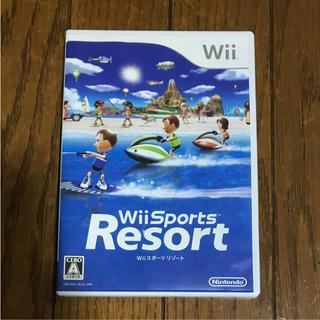 ウィー(Wii)のWiiスポーツ リゾート wii sports resort(家庭用ゲームソフト)