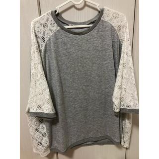 シマムラ(しまむら)の大きいサイズ Tシャツ (Tシャツ(長袖/七分))