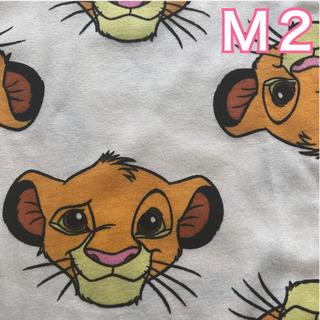 ディズニー(Disney)の【NEW】白M2 シンバ 総柄 Tシャツ(Tシャツ(半袖/袖なし))
