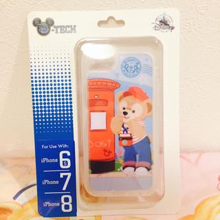 ディズニー(Disney)の上海♡ディズニー♡ダッフィー♡iPhone6.7.8♡ケース♡カバー(キャラクターグッズ)