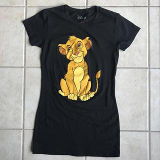 ディズニー(Disney)の【レア!!!!!】L シンバ 丈長 Tシャツ(Tシャツ(半袖/袖なし))