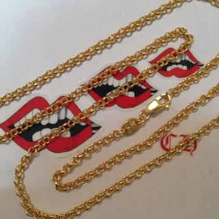 クロムハーツ(Chrome Hearts)のクロムハーツ ロールチェーン ネックレス 45cm(ネックレス)