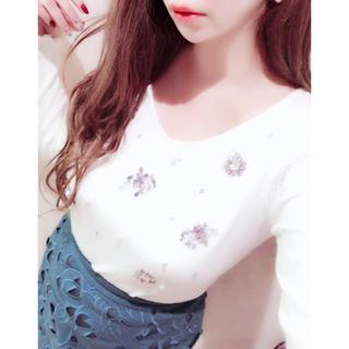 MISCH MASCH - ミッシュマッシュ♡リブ装飾ニットプルオーバー