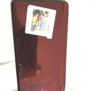 ニンテンドー3DS(ニンテンドー3DS)の3ds 赤 初期型 スマブラ付き(携帯用ゲームソフト)