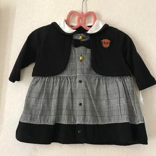 シマムラ(しまむら)の新品未使用 タグ付き バースデイ フォーマル パンツ付き 80cm(セレモニードレス/スーツ)