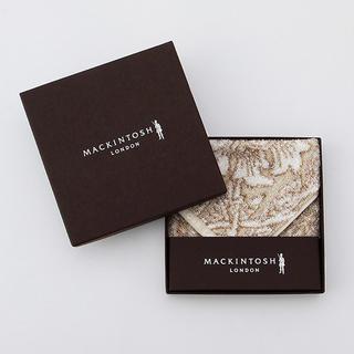 マッキントッシュ(MACKINTOSH)のバイブリーフラワーパイルハンカチーフ 箱付き! 新品未使用(ハンカチ)