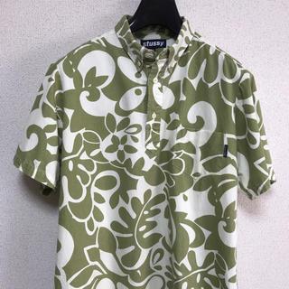 ステューシー(STUSSY)のステューシー STUSSY シャツ 柄シャツ プルオーバー 総柄 かぶり USA(Tシャツ/カットソー(半袖/袖なし))