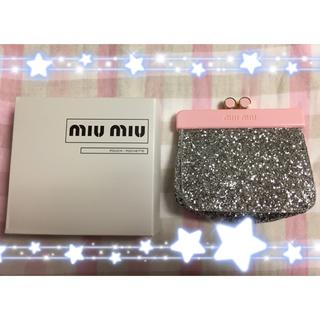 miumiu - miumiu❁新品 非売品 限定 ピンク ポーチ ノベルティ