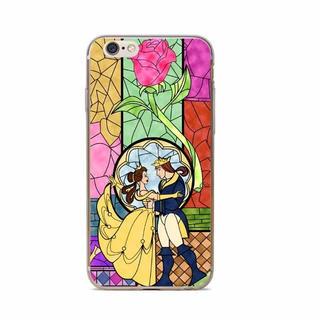 ディズニー(Disney)のiPhoneケース ディズニー 美女と野獣 管理番号1908(iPhoneケース)