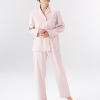 脇に縫い目のない ソフトスムース パジャマ・婦人S