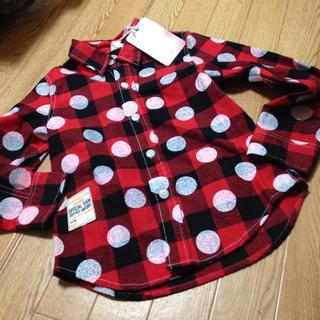 ニードルワークスーン(NEEDLE WORK SOON)のオフィシャルチーム  チェック水玉シャツ(Tシャツ/カットソー)