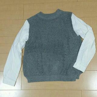レプシィム(LEPSIM)のレプシィム ドッキングニット ニット&シャツ(ニット/セーター)