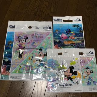 ディズニー(Disney)のディズニーリゾート★ニモ柄 ショッパー5枚(ショップ袋)