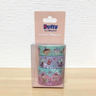 ダッフィー - 香港ディズニー クリスマス マスキングテープ マステ ダッフィー シェリーメイ