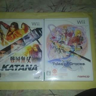 ウィー(Wii)の戦国無双KATANA 、テイルズオブグレイシス(家庭用ゲームソフト)