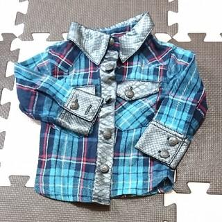 ガスバッグ(GASBAG)のGASBAGチェックシャツ(シャツ/カットソー)