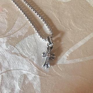 クロムハーツ(Chrome Hearts)のクロムハーツ ベビーファット 8Pダイヤ(ネックレス)