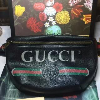 Gucci - GUCCI ベルトバッグ