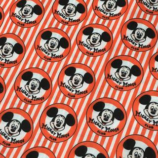 Disney - ディズニー ミッキーマウスクラブ 生地 1m