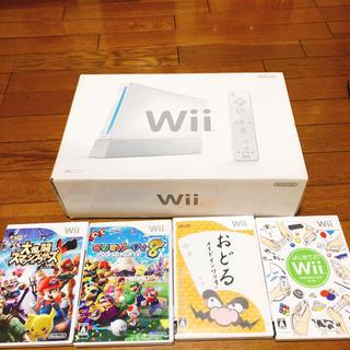 ウィー(Wii)のwii セット 【中古】(家庭用ゲーム本体)