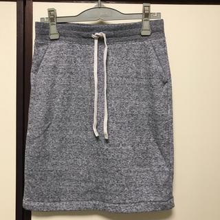 ユニクロ(UNIQLO)のUNIQLO スウェットスカート(ひざ丈スカート)