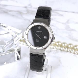 ウブロ(HUBLOT)の美品 ウブロ ジュネーヴ MDM メンズ レディース シルバー 腕時計 時計(腕時計(アナログ))
