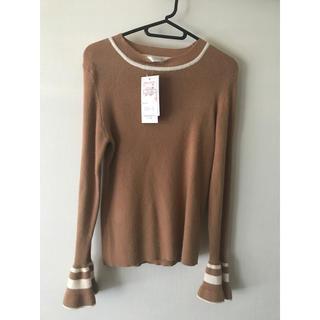 シマムラ(しまむら)の未使用 しまむらセーター(茶色)(ニット/セーター)