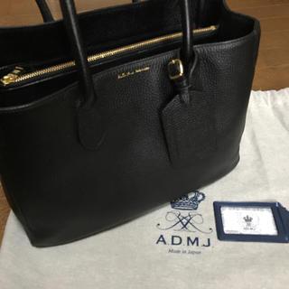 エーディーエムジェイ(A.D.M.J.)のADMJ  バック ブラック未使用(トートバッグ)