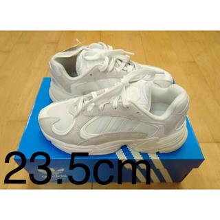 アディダス(adidas)の◆adidas yung 1 white(スニーカー)