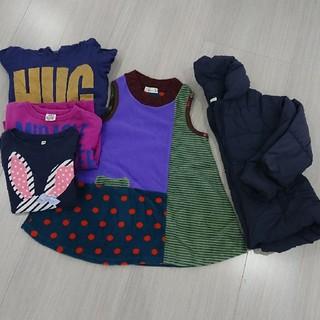 ジーユー(GU)の子供服 まとめ売り 女の子 120サイズなど(ワンピース)