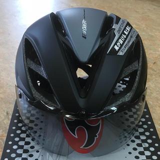 オージーケー(OGK)のOGKサイクルヘルメット シールド付『AERO- R1』L/XL 59~61cm(ウエア)