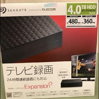 エレコム(ELECOM)の新品新品 SHIGAT ELECOM 4TB HDD(PC周辺機器)