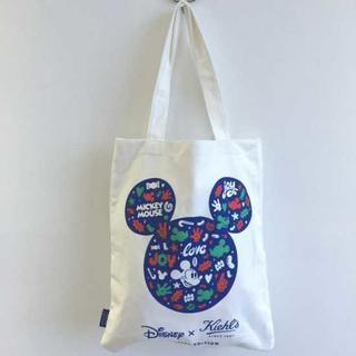ディズニー(Disney)のDisneyxKiehl's コラボトートバック(ハンドバッグ)
