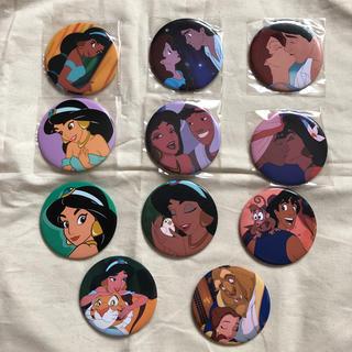 ディズニー(Disney)のディズニープリンセス 缶バッジセット(バッジ/ピンバッジ)