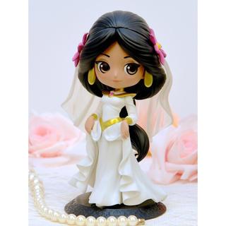 ディズニー(Disney)のQ posket/Disney アラジン ジャスミン(ホワイトドレス)(キャラクターグッズ)