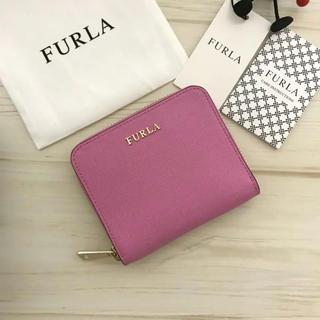 Furla - 2018年新作  FURLA 折り財布 ピンク
