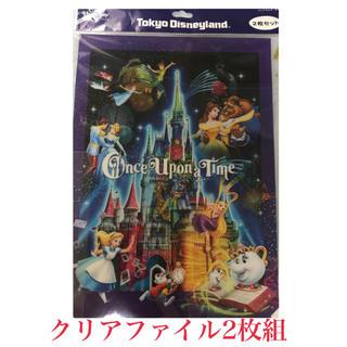 ディズニー(Disney)のOnce Upon a Time クリアファイル2枚組(クリアファイル)