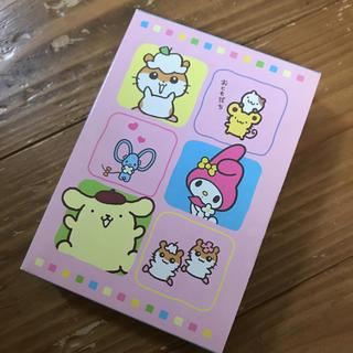サンリオ(サンリオ)の新品 サンリオ レトロ ブック型 ノート(ノート/メモ帳/ふせん)