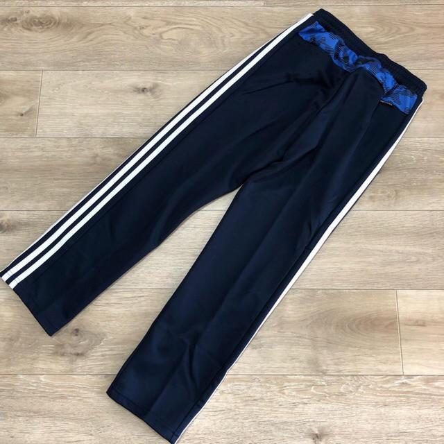 adidas(アディダス)の140 男の子 adidas ジャージパンツ 長ズボン 3本ラインパンツ  キッズ/ベビー/マタニティのキッズ服 男の子用(90cm~)(パンツ/スパッツ)の商品写真