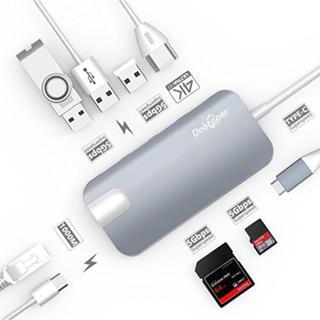 USB-C ハブ Type-c Hub Dootoper 【4K対応】8in1(PC周辺機器)