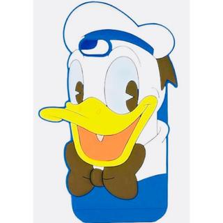 ディズニー(Disney)のiPhone7、iPhone8  シリコンケース  ドナルドダック  (iPhoneケース)