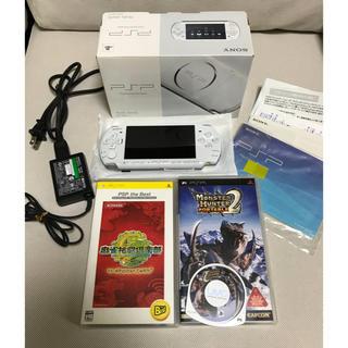 プレイステーションポータブル(PlayStation Portable)のPSP 3000 PW(携帯用ゲーム本体)