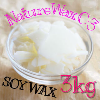 NatureWaxC-3 ソイワックス ソフト 3kg(その他)