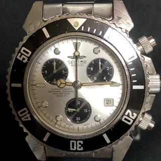 セクター(SECTOR)のらーた3001様専用ページ‼️良品‼️ SGE 500M 防水 最高峰‼️(腕時計(アナログ))