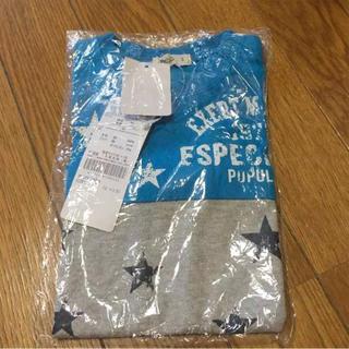アコバ(Acoba)の新品 タグ付き 90 アコバ 半袖 Tシャツ 星柄(Tシャツ/カットソー)