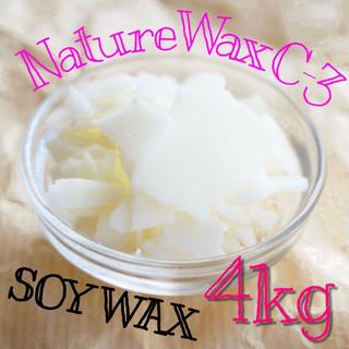 NatureWaxC-3 ソイワックス ソフト 4kg(その他)