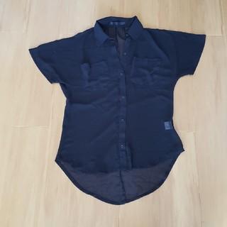 リップサービス(LIP SERVICE)のリップサービス シャツ ブラック 秋冬(シャツ/ブラウス(半袖/袖なし))
